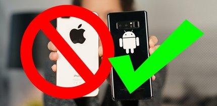 12 Gründe, warum du ENDLICH auf Android wechseln solltest!
