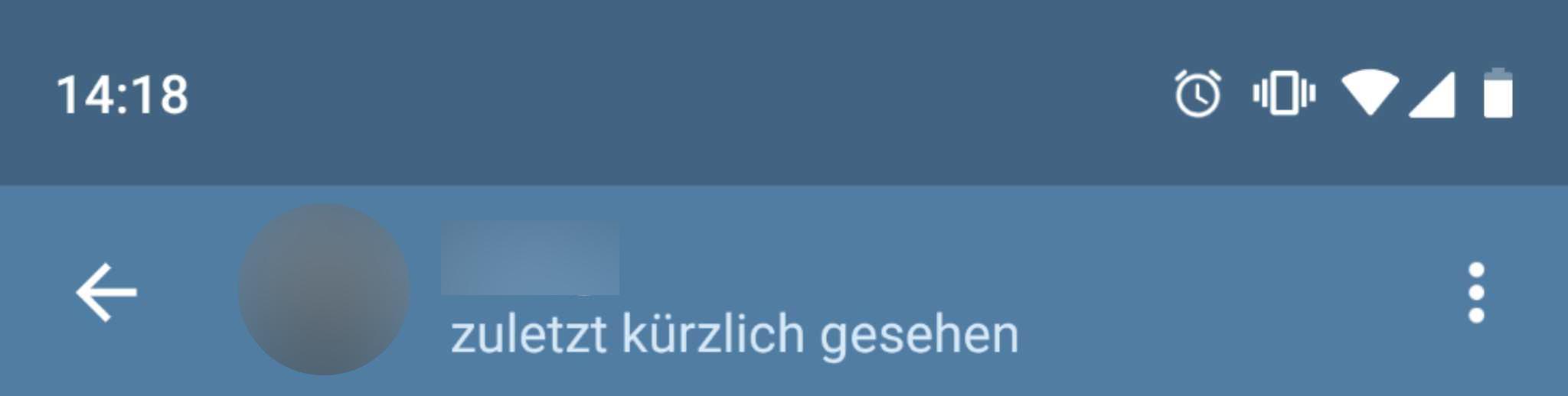 Telegram Kürzlich Gesehen Was Bedeutet Der Online Status