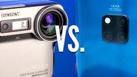 Mavica vs. Mate 20 Pro: 20 Jahre alte Digitalkamera mit aktuellem Top-Smartphone verglichen