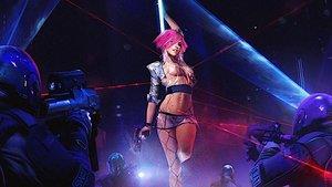 Cyberpunk 2077 lässt euch entscheiden, ob Nacktheit zensiert wird