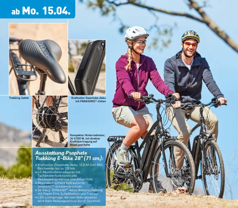 e bikes bei aldi f r 899 euro g nstige trekking pedelecs. Black Bedroom Furniture Sets. Home Design Ideas