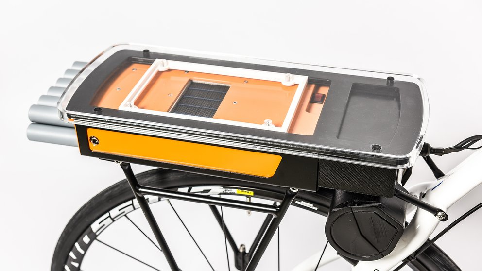 E Bike Mit Brennstoffzelle Litefcbike Macht Nahezu Jedes Fahrrad