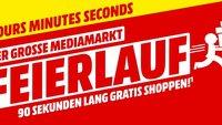 Gratis shoppen bei MediaMarkt: Alle Infos zur Feierlauf-Aktion