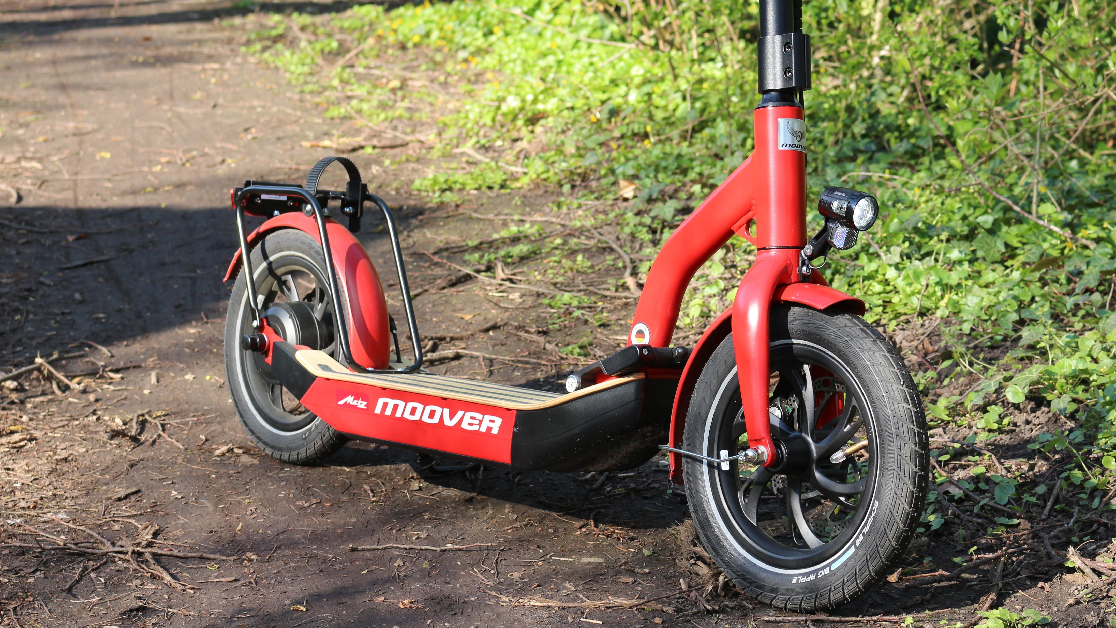 Metz Moover Im Test Der Erste Legale E Scooter In Deutschland
