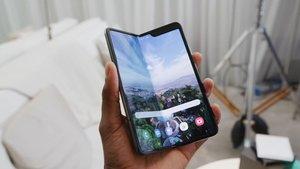 Galaxy Fold 2: So könnte das nächste Falt-Handy von Samsung aussehen