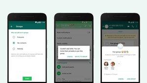WhatsApp: Verhindern, dass andere mich in Gruppen hinzufügen – so geht's