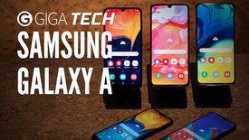 Samsung Galaxy-A-Reihe vorgestellt
