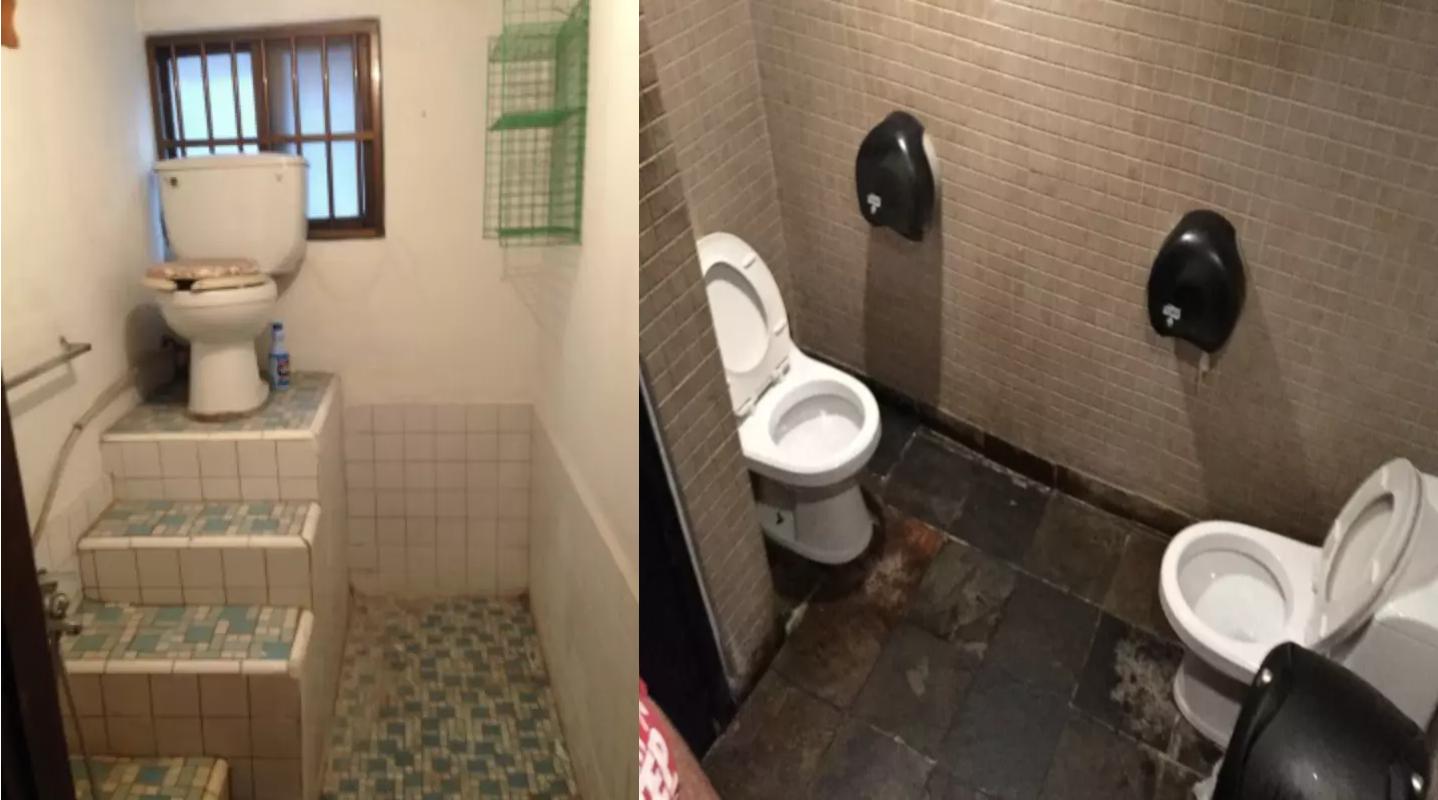 21 Toiletten-Designs, die ein Griff ins Klo sind