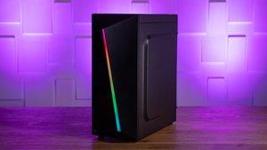 """Gaming-PC für 700 Euro von Agando im Test: """"Gut und günstig""""-Rechner mit Luft nach oben"""