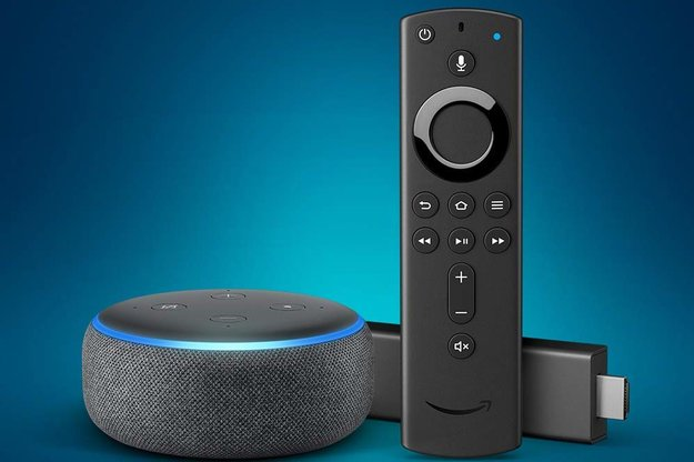 amazon fire tv stick und echo dot f r zusammen unter 50. Black Bedroom Furniture Sets. Home Design Ideas