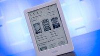 Cyber Monday: Amazon Kindle 2019 mit Leselicht deutlich unter 60 Euro