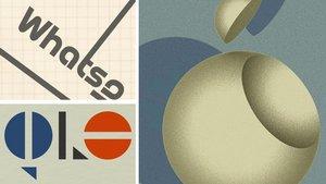 Apple, Google, WhatsApp … so habt ihr die Firmenlogos noch nie gesehen