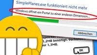 Die 60 dümmsten & lustigsten Fehlermeldungen von Windows, macOS & Co.