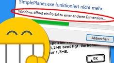Die 54 dümmsten & lustigsten Fehlermeldungen von Windows, macOS & Co.
