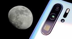 Huawei P30 Pro und der Mond-Modus: So verändert das Smartphone die Fotos