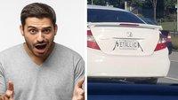 23 völlig abgefahrene Nummernschilder, die Auto-Tuning definitiv zu weit getrieben haben