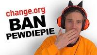 Es gibt eine Petition, die PewDiePie aus YouTube verbannen will