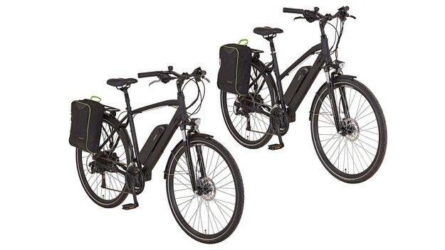 E-Bike bei Lidl für 899 Euro: Trekking-Pedelec von Prophete im Preis- und Technik-Check