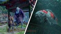 Sekiro: Großen Karpfen töten - Harunaga oder Koremori helfen? (Quest-Walkthrough)