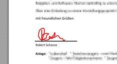 Unterschrift in PDF einfügen – so geht's kostenlos