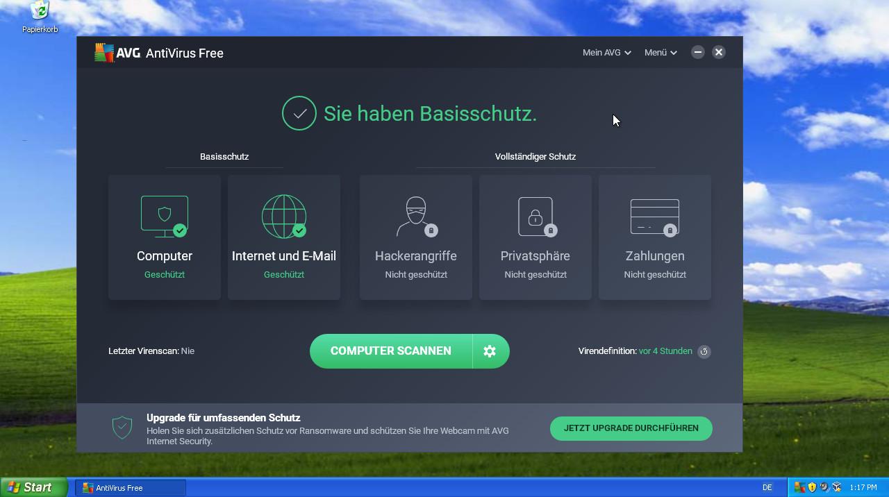 antivirus avg windows xp
