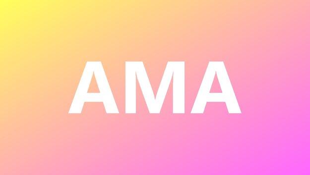 """Was heißt """"AMA""""? Bedeutung & Übersetzung der Internet-Abkürzung"""