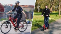 E-Bike oder E-Scooter: Passt ein Pedelec oder Elektro-Tretroller besser zu dir?