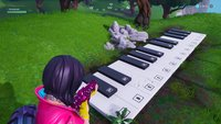 Fortnite: Übergroßes Klavier - Fundort (Season 10)