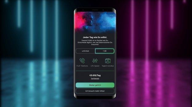 Tarif-Kampf: Freenet Funk startet echte Flatrate zum günstigen Preis per App