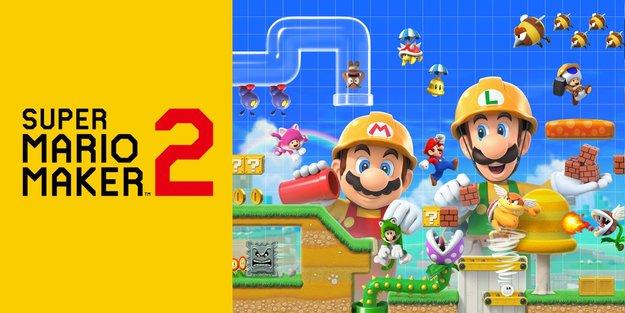 Super Mario Maker 2 lässt dich online mit Fremden, aber nicht mit Freunden spielen
