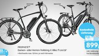 E-Bike ab heute bei Aldi für 899 Euro: Trekking-Pedelec von Prophete im Technik-Check – lohnt sich der Kauf?