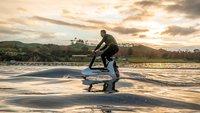Mit bis zu 20 km/h: Dieses E-Bike fährt über das Wasser