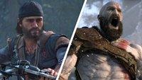 PS4-exklusive Spiele im Angebot: Days Gone und God of War im Bundle günstiger