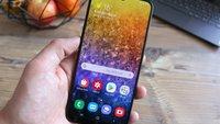 Samsung Galaxy A50: Günstiges Smartphone erhält Funktionen des Galaxy S10