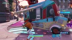 Fortnite: Tanze zwischen zwei Imbisswagen - Fundort im Video (City-Chaos)