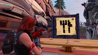 Fortnite: Schatzkarten-Wegweiser in Junk Junction - Fundort des Sterns (Season 8, Woche 10)
