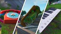 Fortnite: Telefon, Piano und Fisch-Trophäe - Fundorte auf der Karte (Season 9, Woche 2)