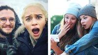 25 Bilder, die zeigen, wie es hinter den Kulissen von Game of Thrones wirklich aussah