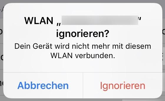 iphone wlan geht nicht
