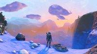 No Man's Sky-Spieler organisieren sich, um eine Stadt im Eis zu bauen