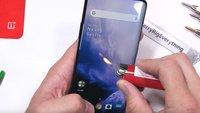 Gequält mit Messern und Feuer: Das OnePlus 7 Pro im Härtetest