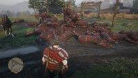 Red Dead Online hat ein Problem mit Bergen verbrannter Pferdeleichen