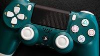 Den alpin-grünen PS 4-Controller gibt es erst seit Kurzem doch er ist jetzt schon reduziert
