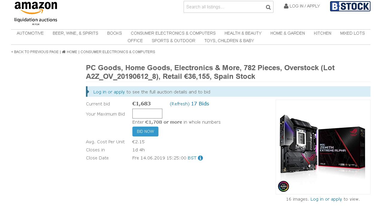 Amazon Liquidation: Auktionen zum Stopp der Warenvernichtung?