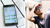 Wie heiß wird ein Handy in der Sonne? GIGA hat nachgemessen