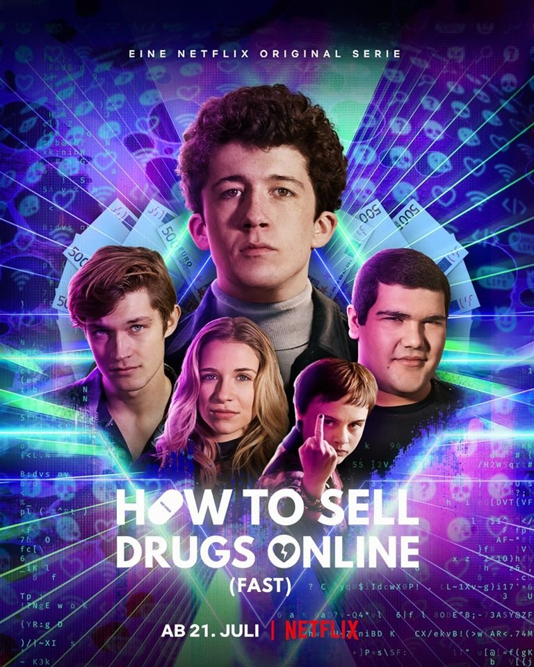 How To Sell Drugs Online (Fast) Staffel 2 Poster