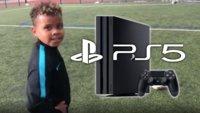 Junge trifft dreimal die Torlatte und bekommt dafür eine PS5