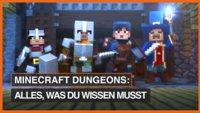 Minecraft Dungeons: Release, Gameplay und alle Infos, die du wissen musst