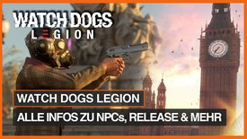 Watch Dogs Legion: Alle wichtigen Inf...