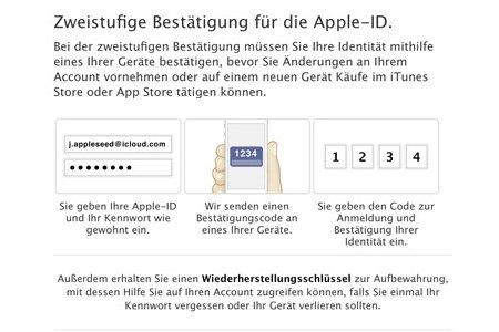 Apple: Zwei-Faktor-Authentifizierung deaktivieren – wie geht das?